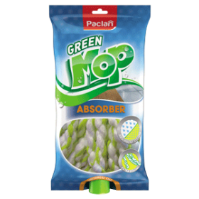 Paclan green mop felmosó fej Absorber